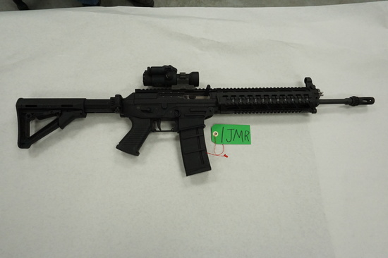 Estate Find: Used Sig Sauer Model 556, SN#JS028524 AR-15 with Trijicon Tri Power Rifle Scope