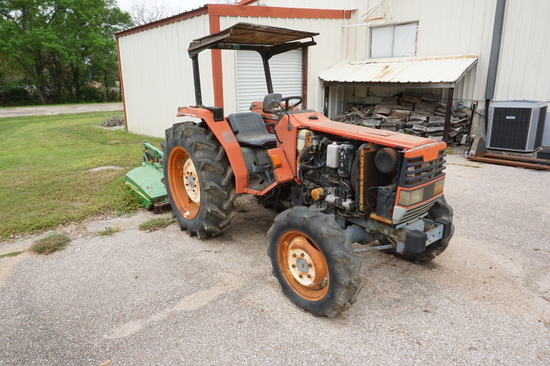 Estate Find: Shibaura D338DT, 40hp 4 cylinder Japanese Diesel Tractor, aprox. 1991 Year Model.
