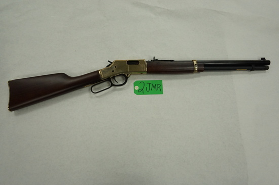 Estate Find: USED (LIKE NEW) Henry Big Boy, .45LC Lever Action Rifle, Octagon Brl, Brass Receiver