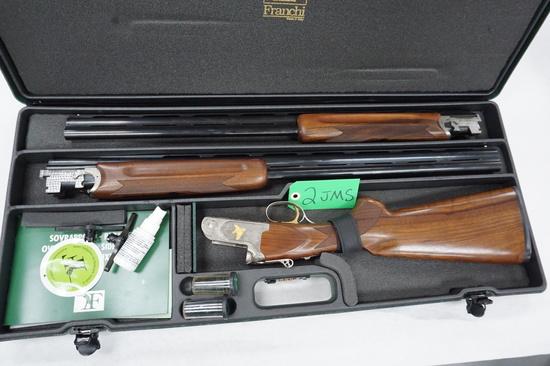 Estate Find: Franchi (Italy) Veloce Squire 20GA/28GA Set Over/Under Shotgun, Beautiful