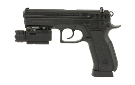 FREE TAC LIGHT! CZ, SP-01 Phantom, DA/SA, Full Size, NEW IN BOX, CZ7591259  Protec MR190 Light
