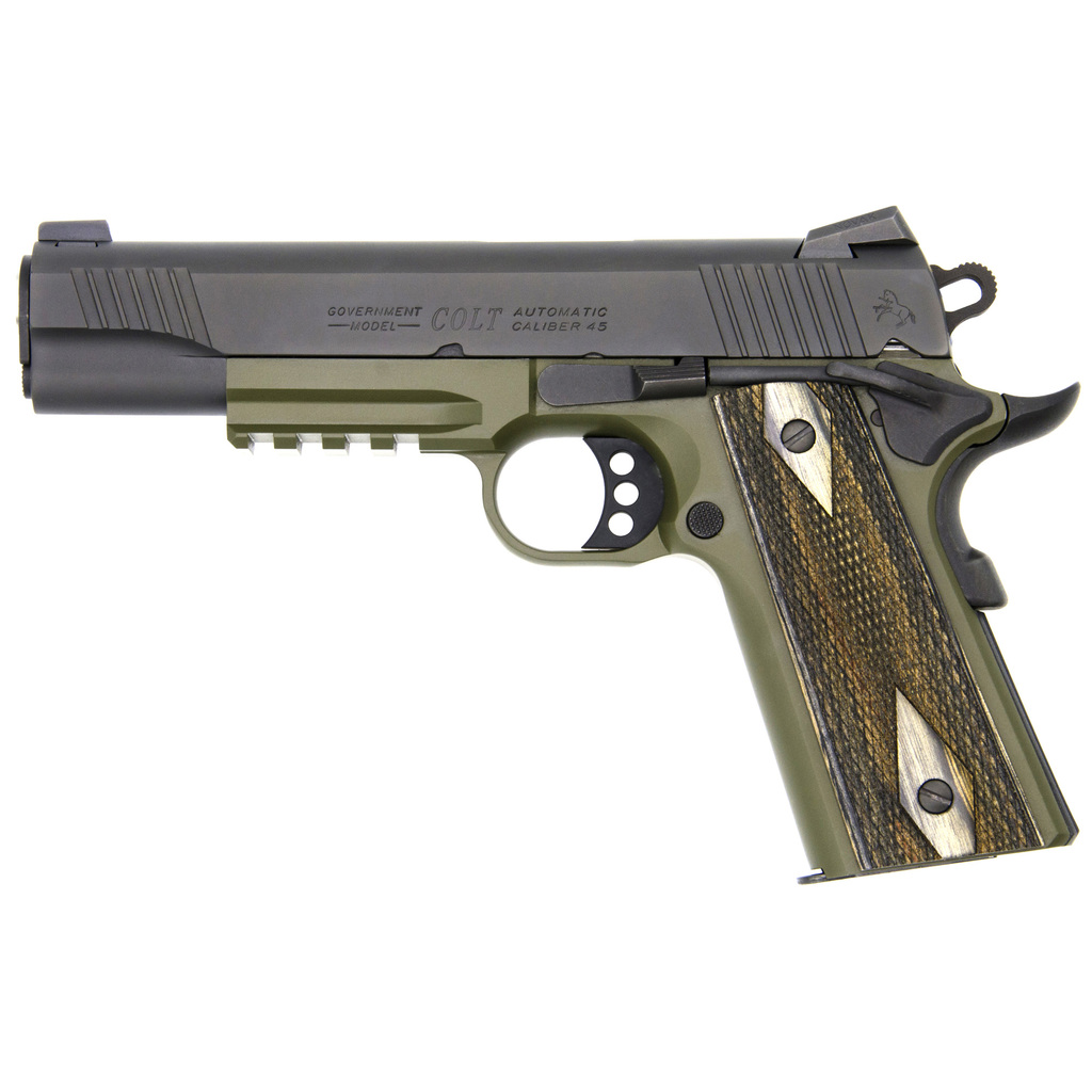 Colt's Manufacturing, Series 80, 1911, Semi-automatic Pistol, Full Size, 45ACP, NEW IN BOX, 01980RG