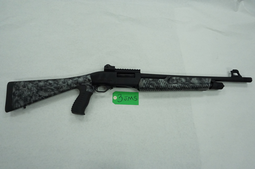 "Estate Find: Weatherby 12 Gauge Pistol Grip Polymer Pump Action Shotgun, Used, 2.75"" or 3"" shells"