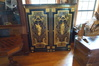 Matched PAIR of French Napoleon III ca 1860-1870 Ebonized Wood and Ormolu Mounted Gilt Cabinets!!