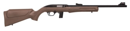 "ROSSI, new in box: RS22 22LR BLK/BROWN 18"" 10 shot Rifle"