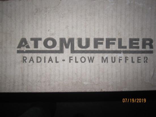 Atomuffler Radial Flow Mufflers