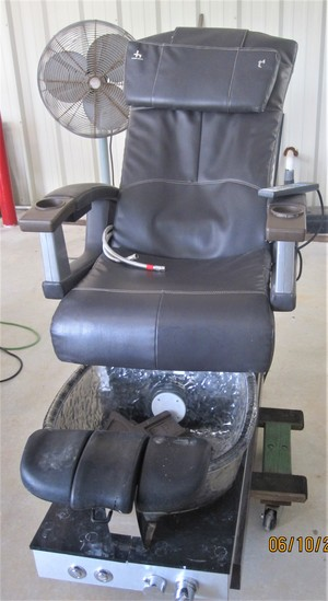 Human Touch HT / T4-Gpa-W Pedicure Station, Winning Bidder  has the privilege to purchase Six More