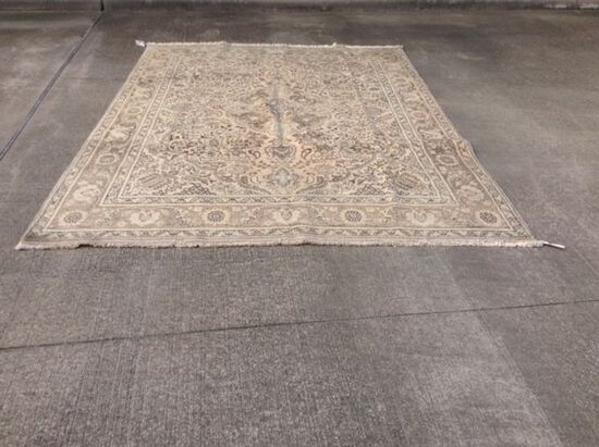 8'x11' TABRIZ Hand Tied Persian Rug, Hand Knotted Oriental Carpet, Retail Value $7500. $75 Shipping