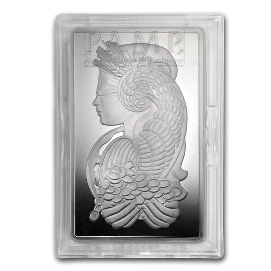 Katy, Texas Estate! Two (2) X The Money: Five Troy Ounces .999 Fine Silver Art Bars in Assay.