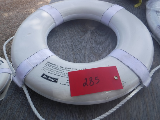 """Jim Buoy 24"""" White Buoy"""