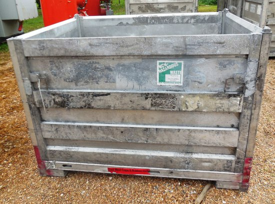 Aluminum Folding Box