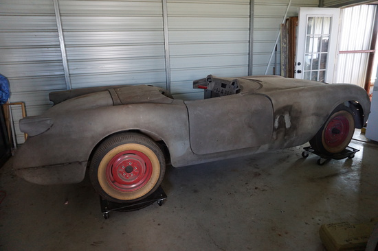 Garage Find! 1954 Chevrolet Corvette, Many Many Parts, Ready for Completion. 2nd Year Beauty! OWN IT