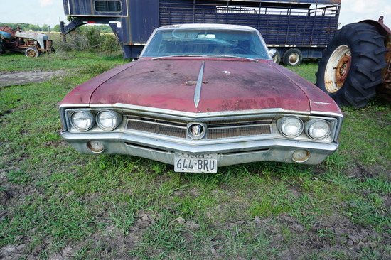 1965 Buick Wildcat, 455cu engine, Auto, NOT RUNNING,  Cannot Find Title, Bill of Sale From Mickey
