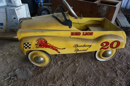 Red Lion Pedal Car