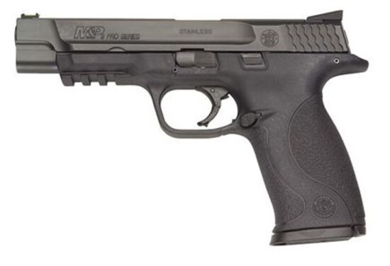 "Smith & Wesson M&P9 PRO SERIES, 9mm, 17 Shot, 5""BRL, NEW IN BOX, 26 oz"