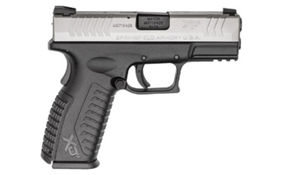 "Springfield XDM, Striker Fired, Full Size, 9MM, 3.8""BRL, Polymer Frame, Bi-Tone Finish"