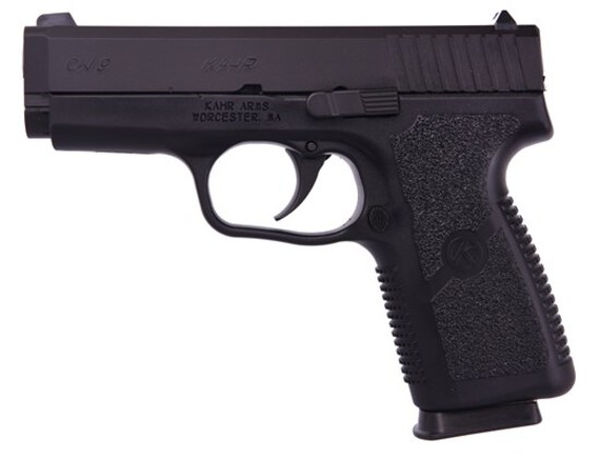 "KAHR ARMS CW9 BLACK POLYMER, 9mm, 3.5""BRL, 7 Shot, NEW IN BOX"