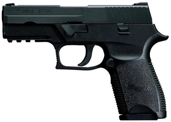 Sig Sauer P250 Compact 9mm, 15 Shot, SigLite Night Sights