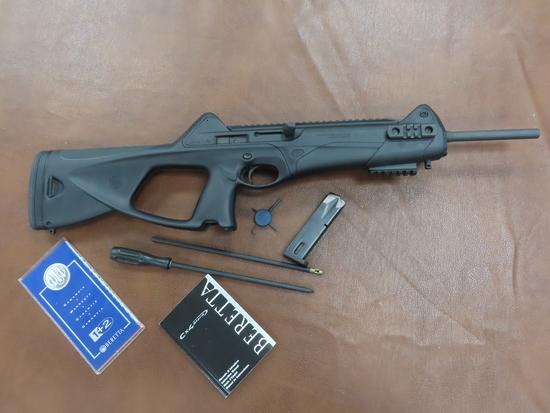 Frydek, Texas Estate Find: Beretta CX-4 Storm Carbine, 9mm, rail, swivel, one mag like new. $30 SHIP