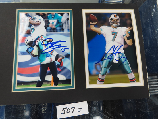 "Two Signed   4""x6"" Dolphins, #7 and #15, NO COA, Estate Find, HAC Does Not Guarantee Authenticity"
