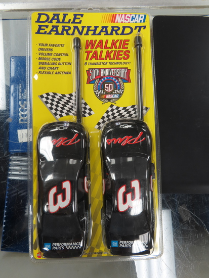 Vintage NEW IN PACKAGE: Dale Earnhardt Walkie Talkies, 1998. Mint in Original Packing. UN-USED