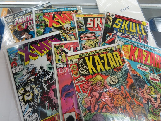 Nine (9) X the Money: Really Nice Marvel Comic Book Collection incl. Fantastic Four #197, Annual
