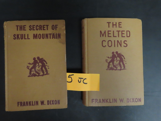Both For One Money: 1944 and 1948 Hardy Boys Mystery Stories by Franklin W. Dixon, Vintage!