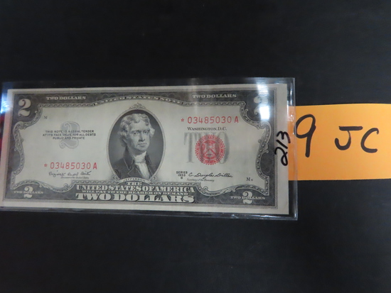 1953-B $2 Red Seal U.S. Note