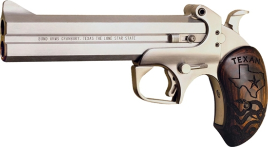 """BOND ARMS TEXAN .45LC/.410G -3"""" Chamber, 6""""BRL STAINLESS STEEL FRAME. TEXAN410 , NEW IN BOX"""