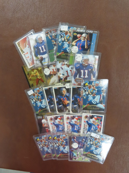 Collection of Drew Bledsoe Football Cards! All One Money