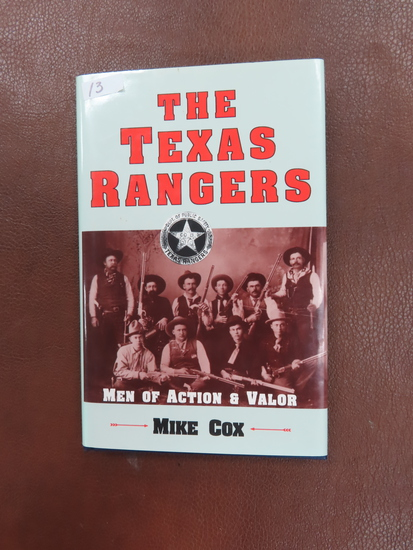 Signed by Mike Cox: The Texas Rangers with jacket, First Edition, 1991
