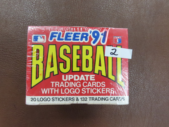 1991 Fleer Baseball Update Set with Bagwell & Pudge ROOKIE CARDS! Factory Sealed, Unopened