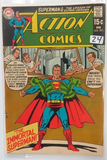Action Comics #385 DC Comics 1970