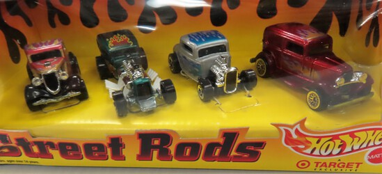 1998 Hot Wheels Street Rods, unopened. special edition.