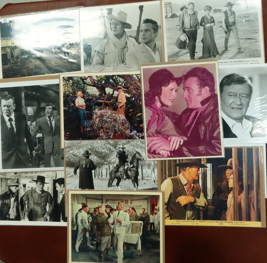 John Wayne incl. Lobby Cards