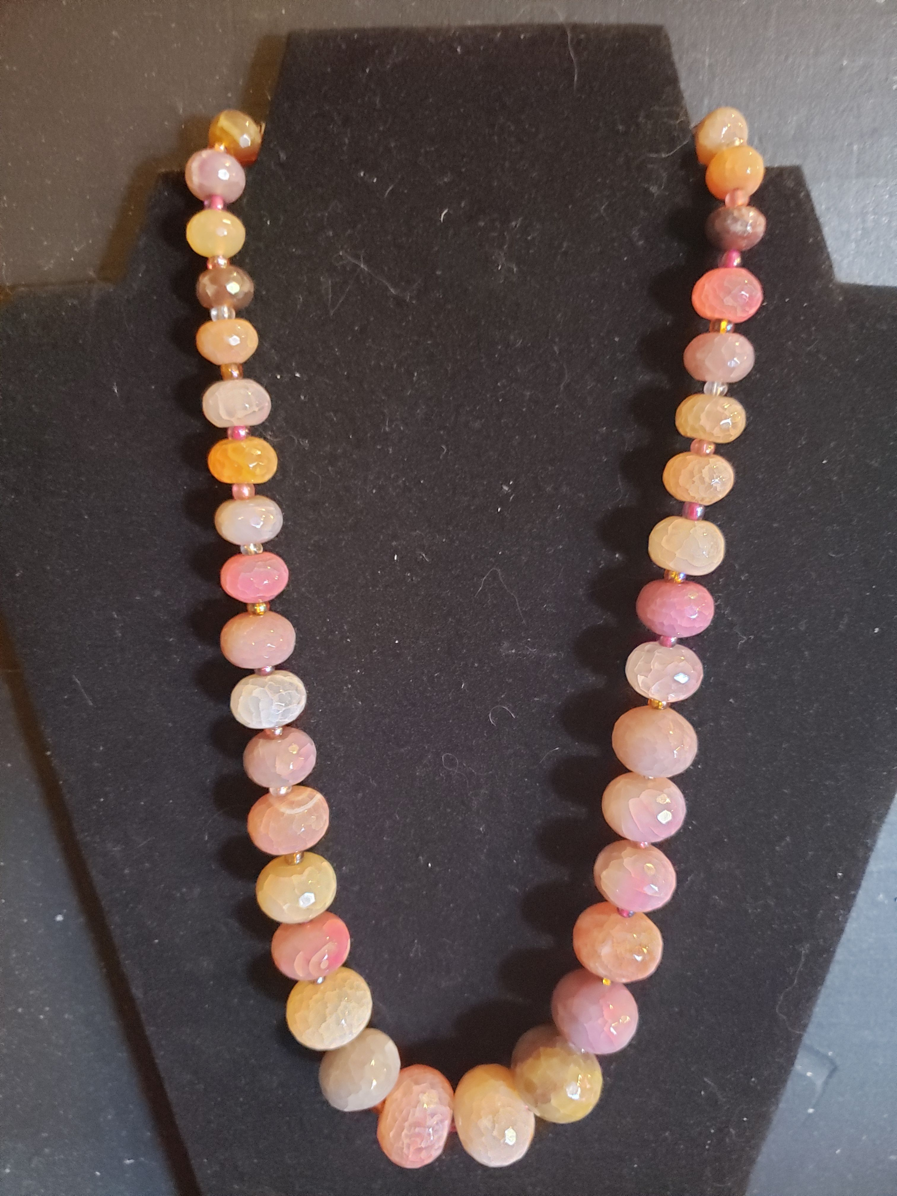 Sterling Chalcedony Necklace