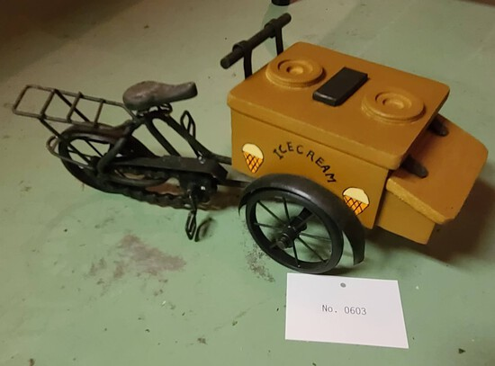 Vintage Tricycle Wagon
