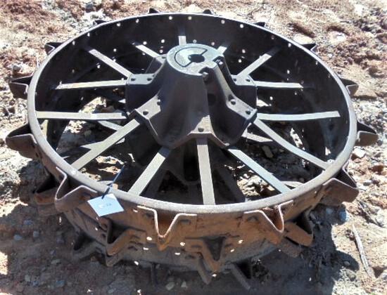 Pair of Steel Rims fits M Farmall