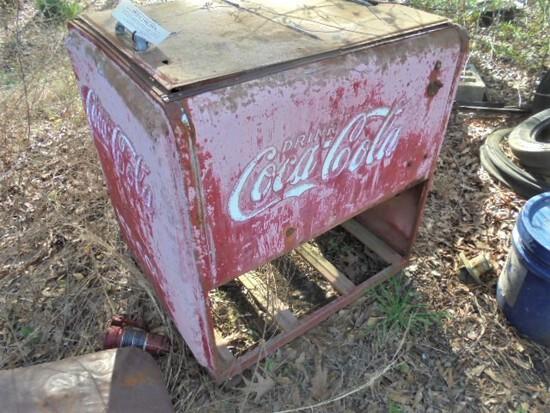 """1930's Coke Drink Box """"2 door"""""""