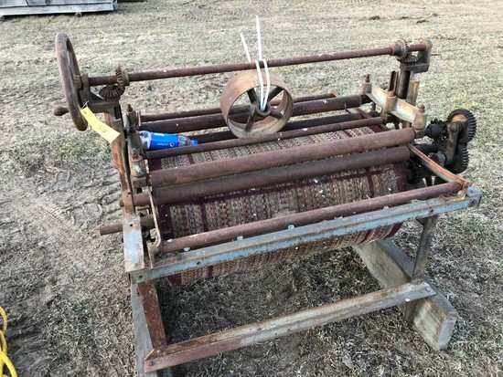 058 Belt Driven Machine