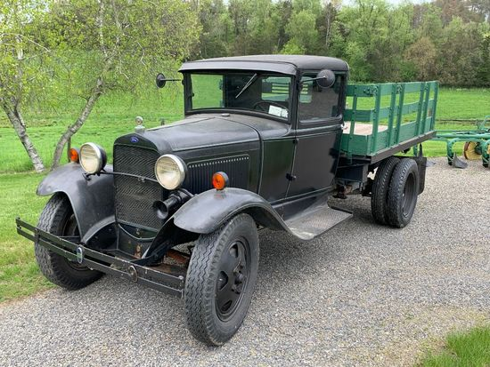 16 1931 Ford Model A Truck