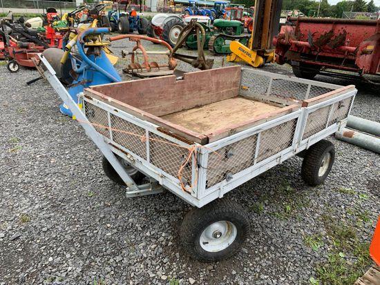 3521 4-Wheel Garden Cart