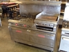 Vulcan 6-burner range - double oven - 24in griddle - gas - 60in W