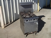 4-burner gas range - 24in W