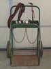 Torch cart w/torch - gages - hose