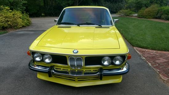 1971 BMW 2800cs resto-mod
