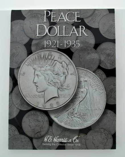 Partial Peace Silver Dollar Collection In Folder, 17 Peace Dollars, Condition As Shown
