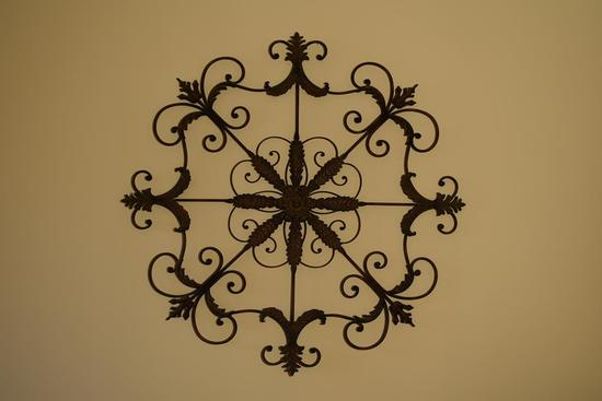 Contemporary Large Metal Wall Decor
