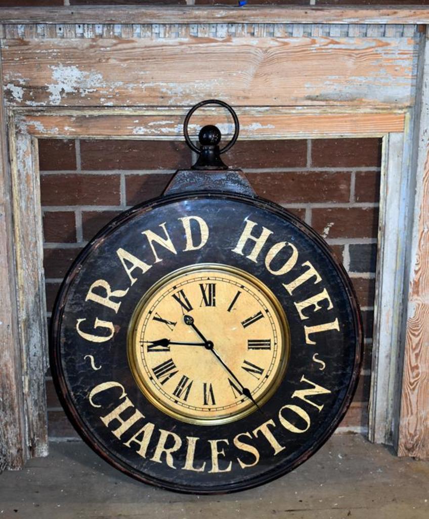 Contemporary Grand Hotel Charleston Wall Clock