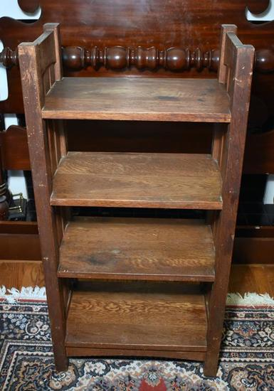 Genuine Stickley Craftsman Furniture Arts & Crafts / Mission Style Oak Bookshelf